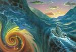The Infinite Sea (Alternate Sketch)