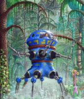 Swamp Crawler by AlanGutierrezArt