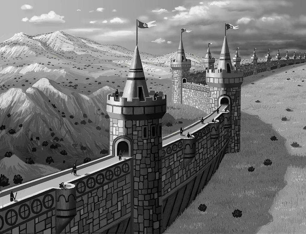 Great Wall by AlanGutierrezArt