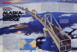 Alaska Siberia Bridge Two Page Spread by AlanGutierrezArt