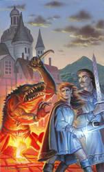 Ben Bella Books Fantasy Cover Sketch by AlanGutierrezArt