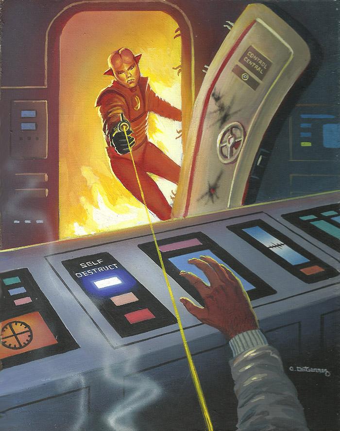 Deadman's Switch by AlanGutierrezArt