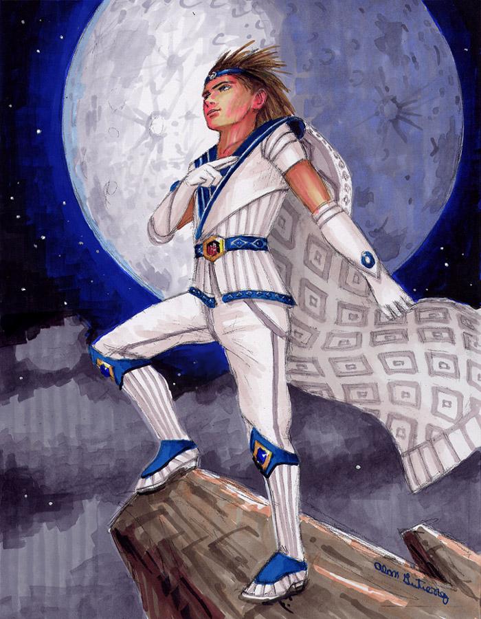 Sailor Europe by AlanGutierrezArt