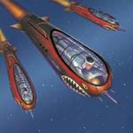 Kamikaze Doom Driver Torpedoes