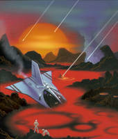 Hard Times On A Distant Planet by AlanGutierrezArt