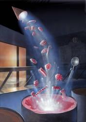 Peppermint Blast Fantasy by AlanGutierrezArt