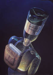 Golden Champale by AlanGutierrezArt