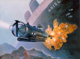 The Secret Of Ariel by AlanGutierrezArt