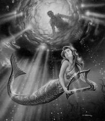 The Sea King's Harp by AlanGutierrezArt
