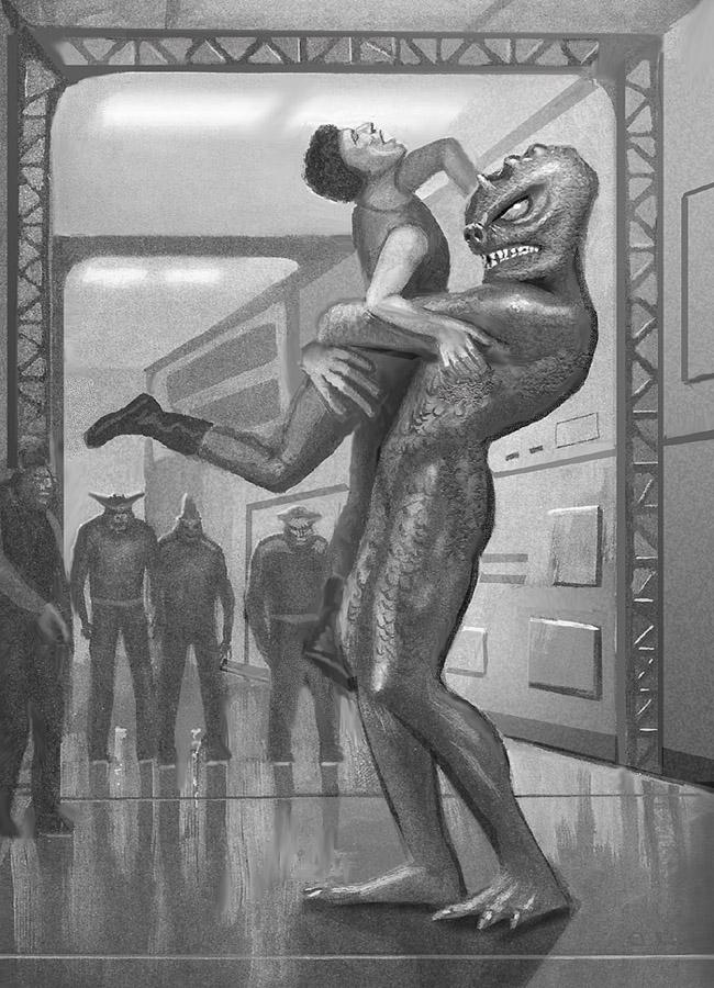 Earthblood: Snagglehead's Crush by AlanGutierrezArt