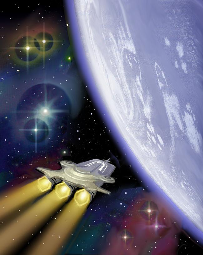 Earthblood: Home To Terra by AlanGutierrezArt