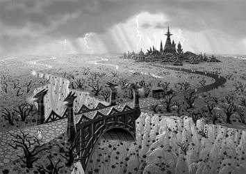 Neraka by AlanGutierrezArt