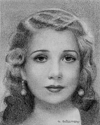 Ann Sothern Portrait 2 by AlanGutierrezArt
