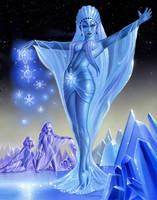 Princess Snow Kaguya by AlanGutierrezArt