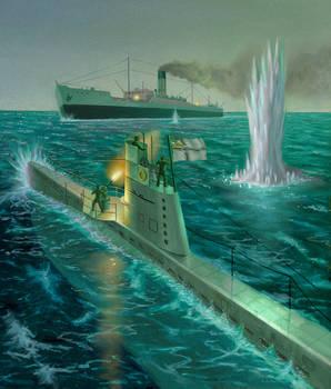 U Boat Vs. Q Ship
