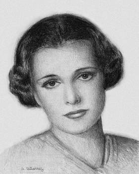 Mary Astor Portrait