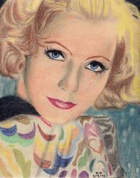 Greta Garbo Portrait 6