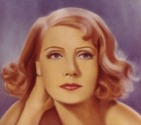 Greta Garbo Portrait 7