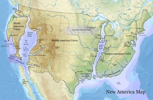 New America Map