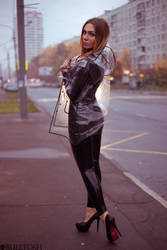 bus stop and latex by LikeAbillion