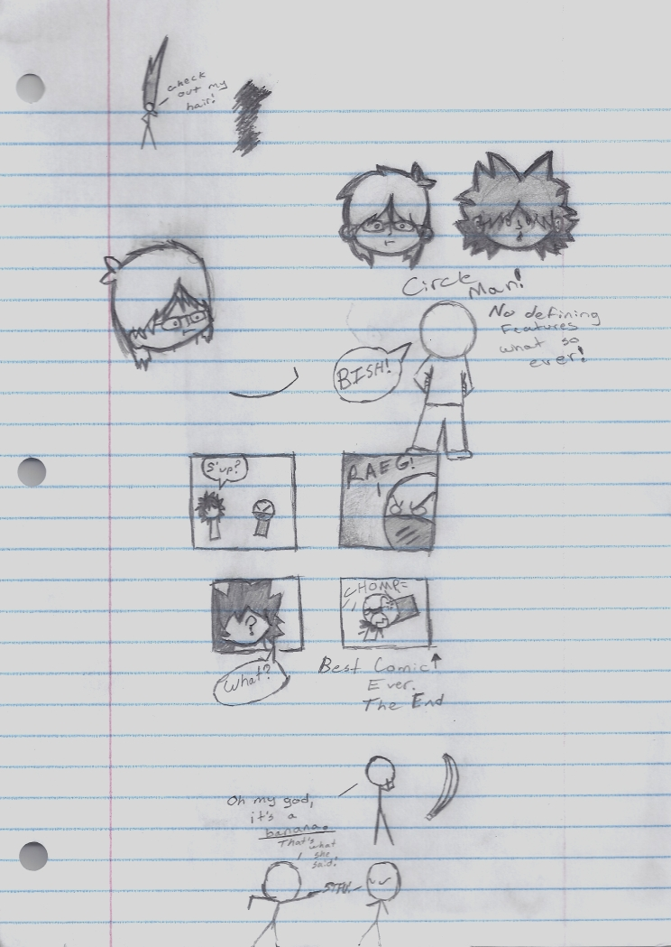 Study Hall Doodle 1 by ZoomtheHedgehog360