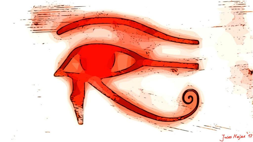 the eye of ra vs eye of horus