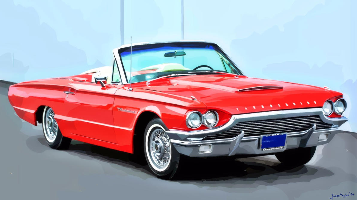 1964 Ford Thunderbird by julesmeijer