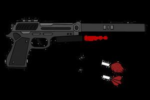 Tranquilizer Gun [Com] by RoyalBlackheart