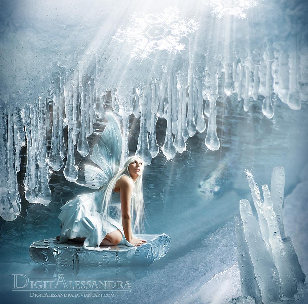 Winter Fairy by digitalessandra