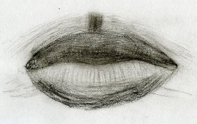 Charcoal Lips by bumbleben