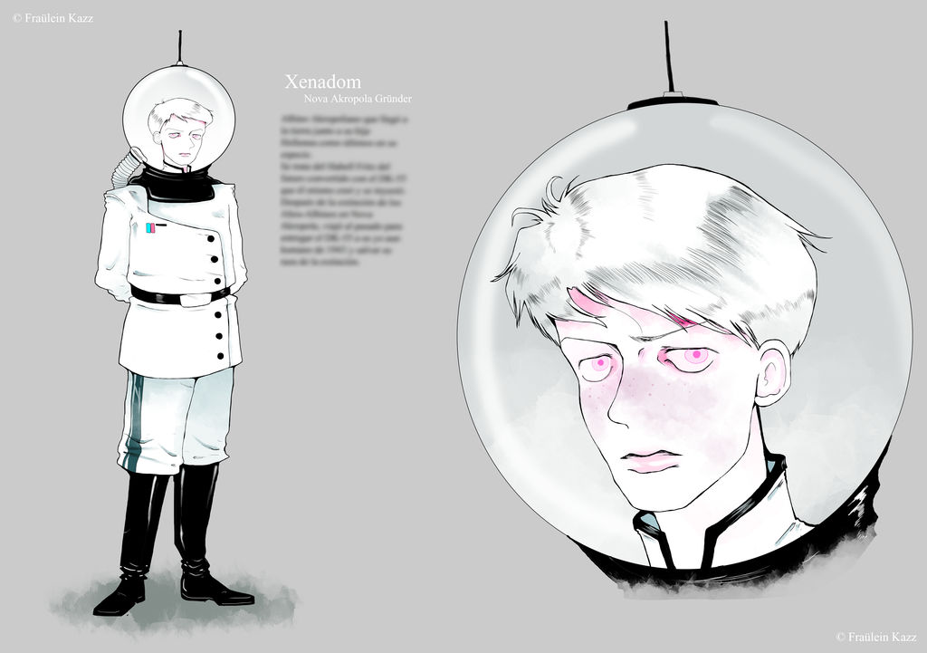 Commander Xenadom. by Fraulein-Kazz