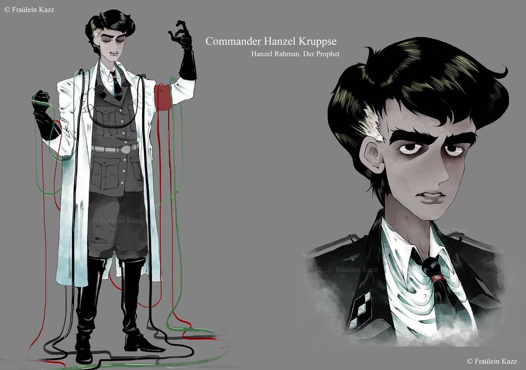 Commander Adam Al-Rahman [Concept art and lore] by Fraulein-Kazz