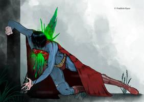 Superman dies. by Fraulein-Kazz