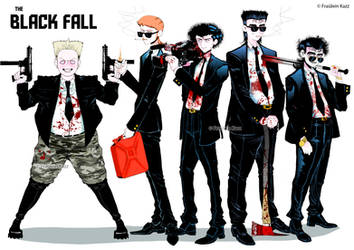 The Black Fall by Fraulein-Kazz