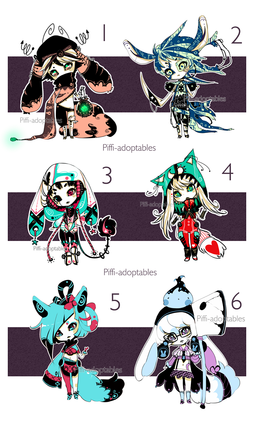 [CLOSED] ADOPT Auction 17 - set by Piffi-adoptables