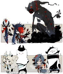 [CLOSED] ADOPT AUCTION 120 - Shadowmonsters