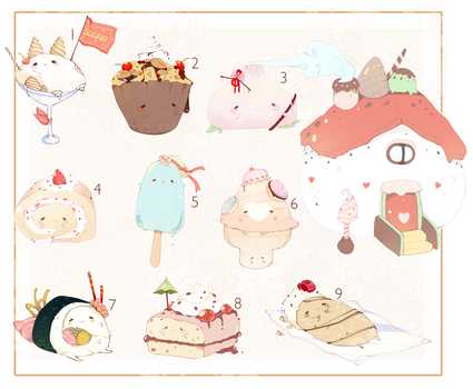 [CLOSED] ADOPT AUCTION 128 - Food Pet