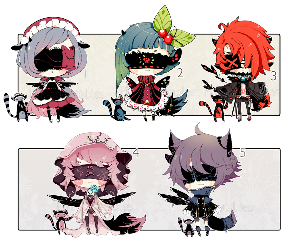 [CLOSED] ADOPT AUCTION 137 - Blind Lace by Piffi-adoptables