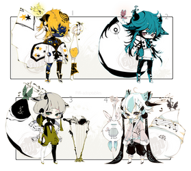 [CLOSED]ADOPT AUCTION229-Enigma (New Faction) by Piffi-sisters