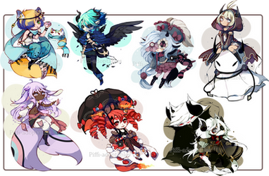 Special chibi commission -batch 02