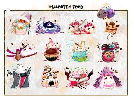 [CLOSED]ADOPT AUCTION 347- Halloween Food Pet