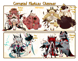 [CLOSED]ADOPT AUCTION348-Corrupted Plushie charmer