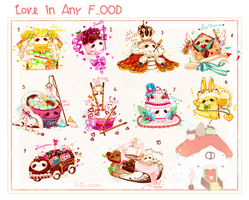 [CLOSED]ADOPT AUCTION 363 - Love Pet Food by Piffi-sisters