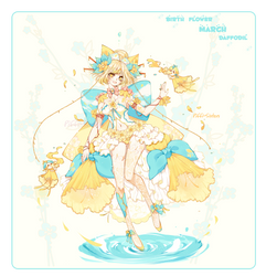 [CLOSED]ADOPT AUCTION 369-BIRTH FLOWER OFF SPECIES by Piffi-sisters