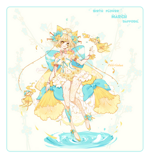 [CLOSED]ADOPT AUCTION 369-BIRTH FLOWER OFF SPECIES