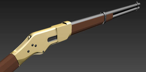 Carbine 01 Static High Poly by Seth-T