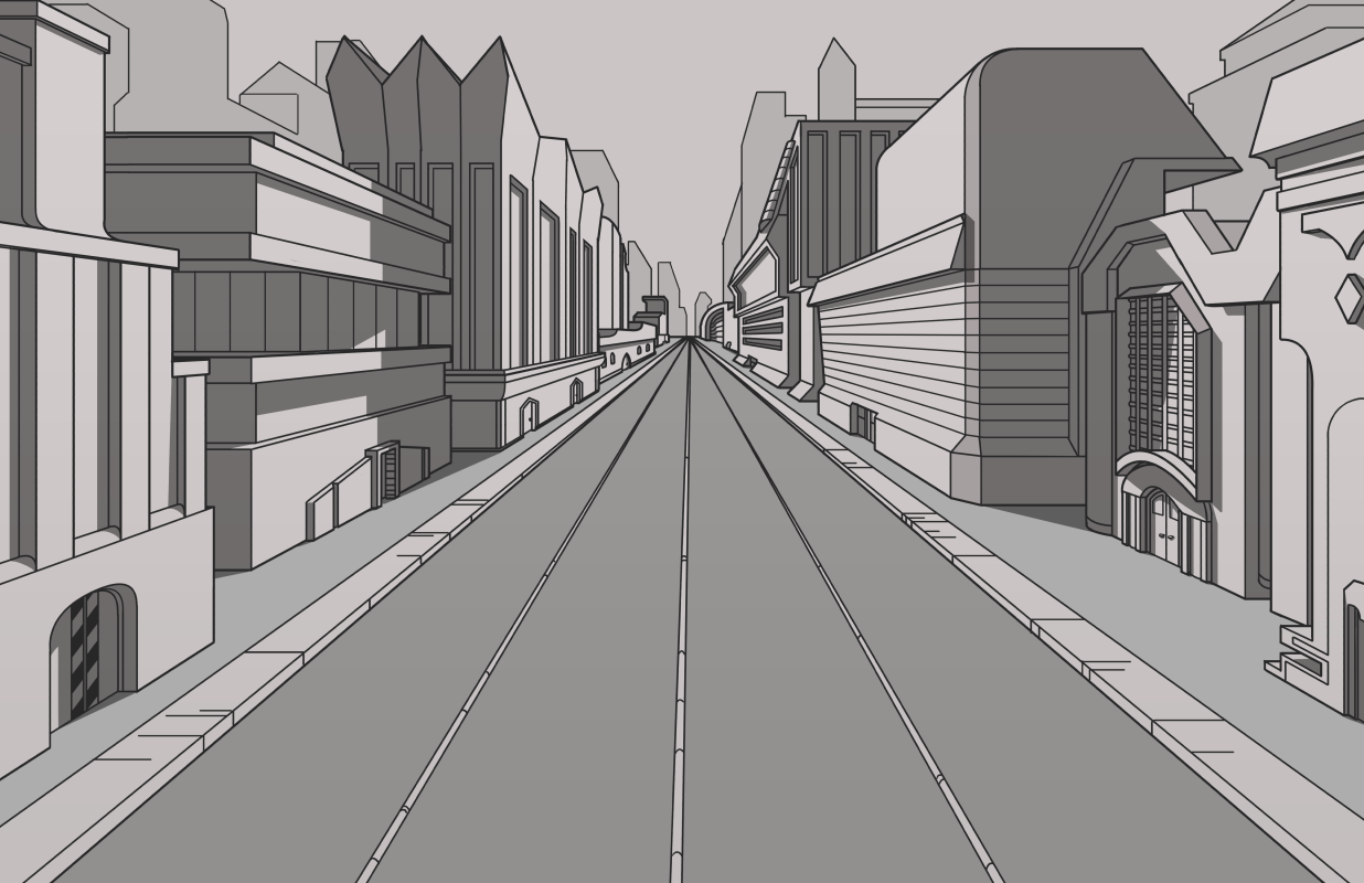 WIP City by OniPolice