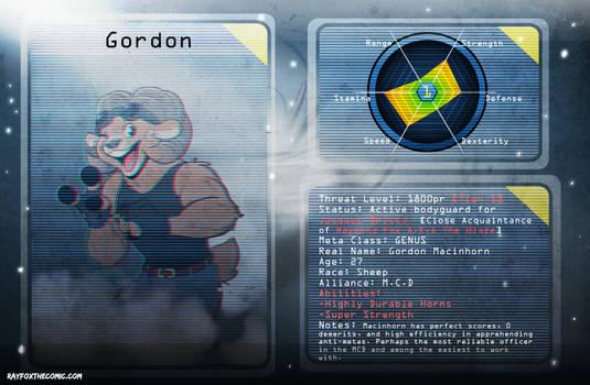 Meta Database Profile Gordon