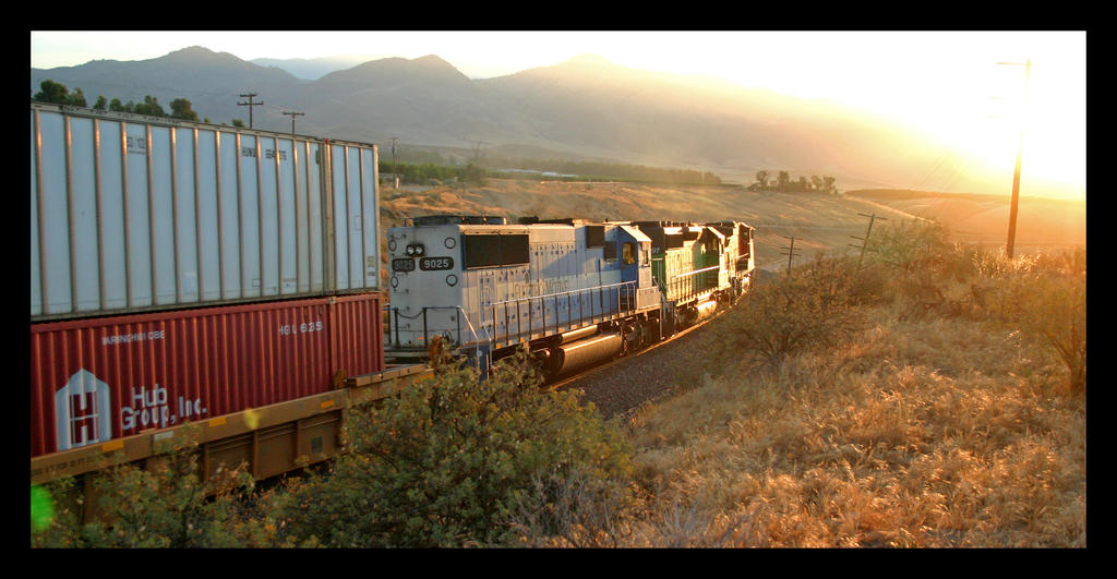 BNSF 4630 at Sandcut by photogatlarge