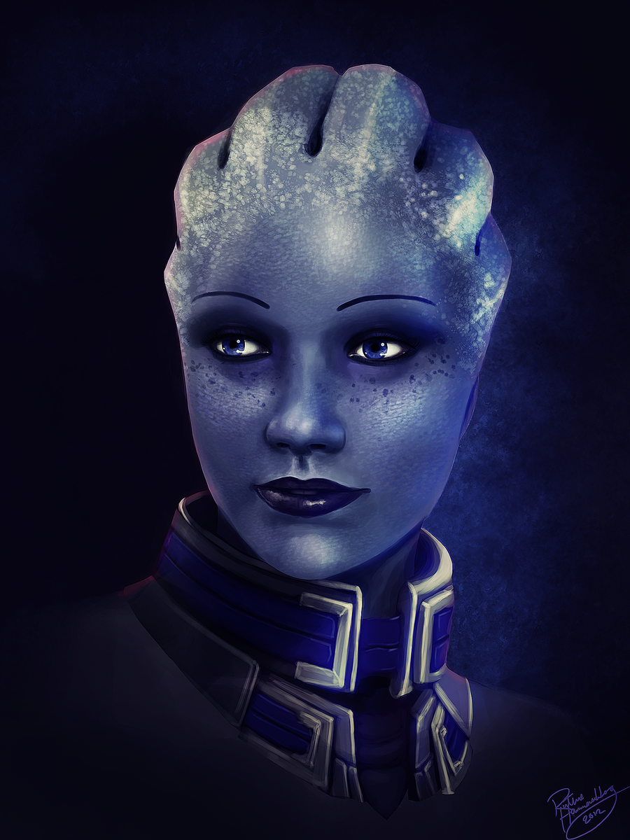 Mass Effect: Liara T'soni by ruthieee